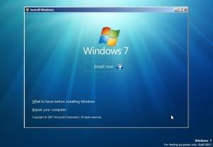 преинсталиране на windows 7