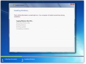 преинсталиране на Windows 7 sp1 4-ти етап
