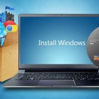 Преинсталация на Windows 7 със запазване на файловете