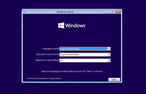 инсталиране на Windows 10- 1